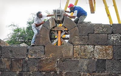 um-el-kanatir-wall