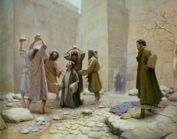 st. stephen's stoning