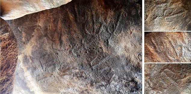 dolmen engraving