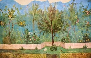 Garden-fresco-villa livia, Rome