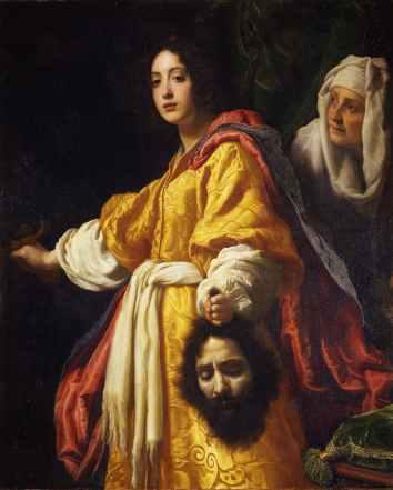 judith and holofernes - uffizi