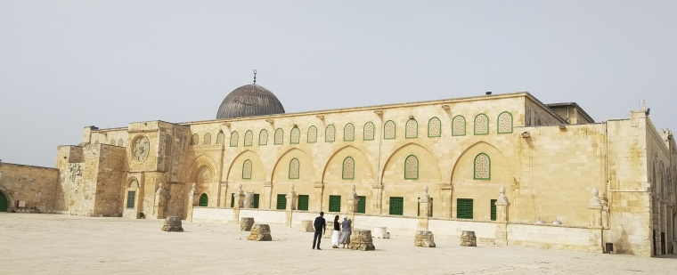 al-aqsa eastern facade